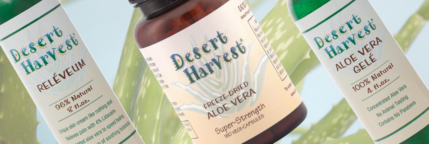 Why Desert Harvest Aloe Vera Vs Liquid Gel Other Brands Desert