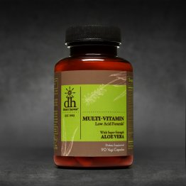 Multi-Vitamin Low Acid (90 Capsules)