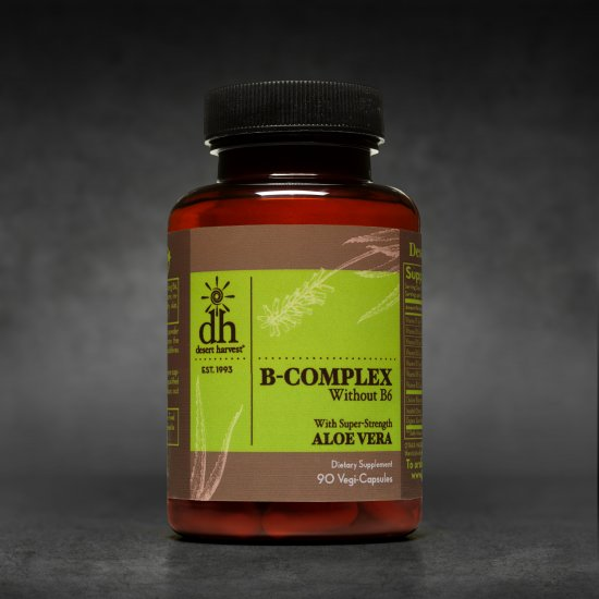 B-Complex - without B6 (90 Capsules)
