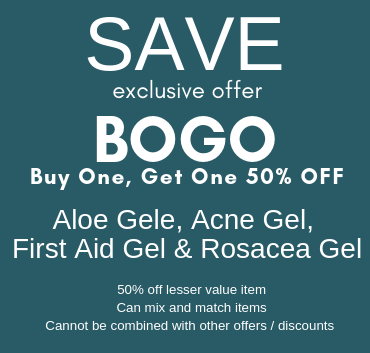 April Special BOGO Skin Care
